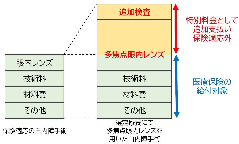 選定療養のイメージ